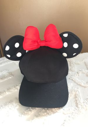 Disneyland Minnie Mouse Ears Bow tie Hat for Sale in Red Bluff, CA