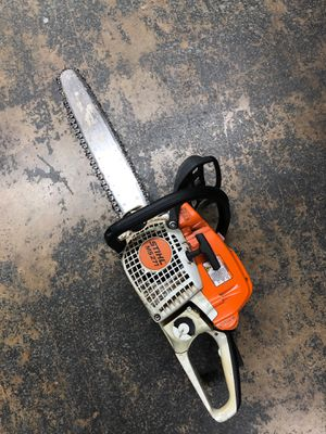 Still chainsaw ms271 with hard case for Sale in Dallas, TX