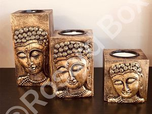 Buddha candle set for Sale in Hoffman Estates, IL