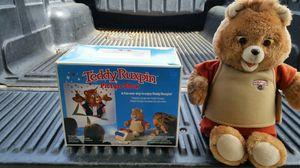 Teddy ruxpin talking bear picture show for Sale in Fremont, CA