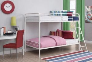 Twin Metal Bunk Bed for Sale in Pittsburgh, PA