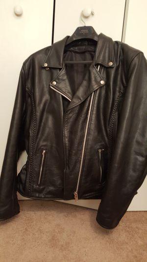 Ladies Premium Leather Motorcycle Jacket for Sale in Orlando, FL