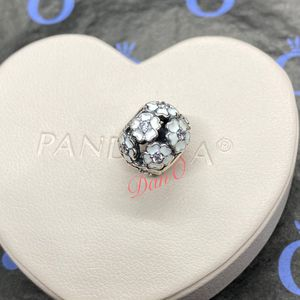 White Flowers Pandora Charm for Sale in Waukegan, IL