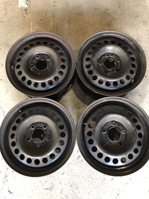Four - 15inch 5x108 Steel Rims for Sale in Tully, NY