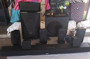 Home surround sound tv speakers for Sale in Fresno, CA