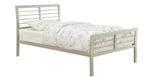 Two twin bed frames (in black) for Sale in Riverside, CA