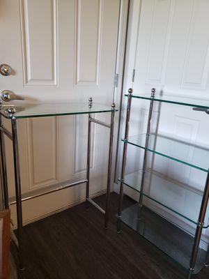 Metal & Glass Shelves for Sale in Phoenix, AZ