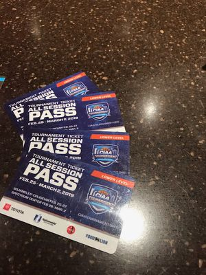 CIAA access to all games for Sale in Charlotte, NC