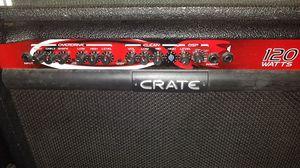 Guitar amp. Crate 120watt for Sale in Derwood, MD