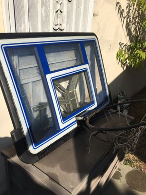 BASKETBALL HOOP AND BACK BOARD for Sale in Pasadena, CA