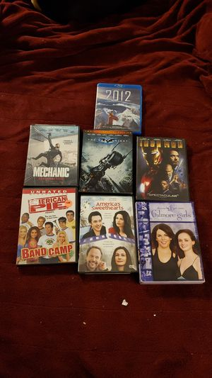 Gilmore girls season 6 and 5 DVDs and 1 blu ray for Sale in Fogelsville, PA