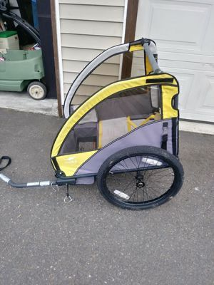 Copilot trailer bike 2 seater kids for Sale in Miami, FL