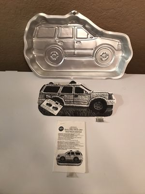 Jeep Cherokee Cake Pan. for Sale in Fort McDowell, AZ