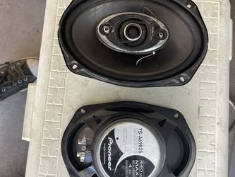 6x9 Pioneer Speakers . Like New Condition Just Colecting Dust for Sale in Phoenix,  AZ
