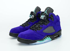 Alternate grape Jordan 5 size 8.5 want to trade for 13 for Sale in Grove City, OH