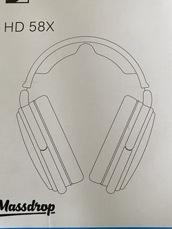 Massdrop Sennheiser HD 58x Jubilee Headphones Used Condition for Sale in South El Monte,  CA