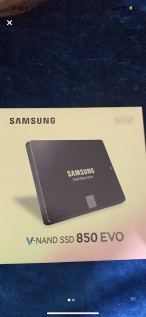 Samsung 500gb ssd for Sale in Chino, CA