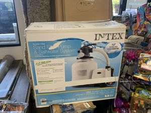 Filter pump pool pump PRICE IS FIRM NEW for Sale in Modesto, CA