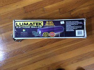 Lumatek electronic ballast LK 6240 D for Sale in Atlanta, GA