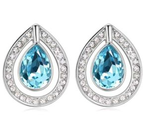 $5 new silver plated CZ earrings for Sale in Ballwin, MO
