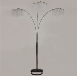 "...🔆.♥️.Crystal Chrome 87"" Floor Lamp.❤.🔆... for Sale in Laurel, MD"