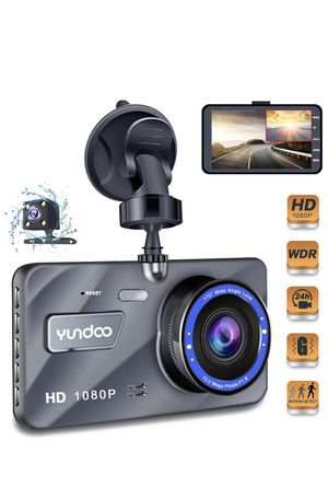 "Dash Cam Car Dashboard Camera - Full HD 1080p Car Dashboard Camera,4""IPS Screen Dual Wide Angle Lens Car Dash Cam,G-Sensor,Cycle Recording,WDR,Parkin for Sale in Diamond Bar, CA"