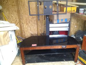 Tv stand great shape photo not so good for Sale in Grottoes, VA