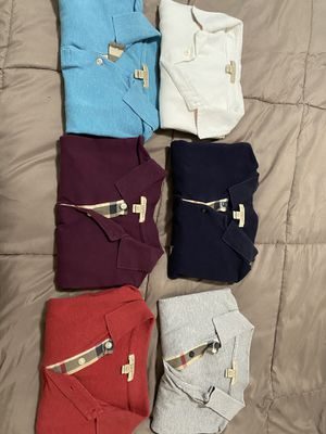 Burberry polos for Sale in Clermont, FL