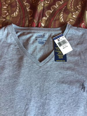 Mens Grey Ralph Lauren Polo Shirt for Sale in San Diego, CA
