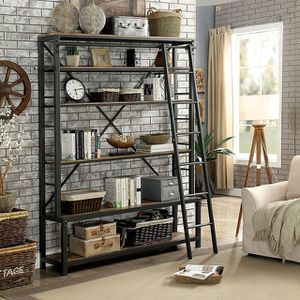 Industrial shelf with ladder. Brand new. for Sale in Allen, TX