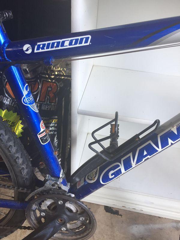 Giant 19inch frame 8 speed mountain bike