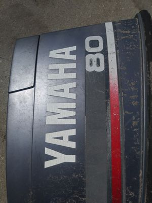 Yamaha 80 boat engine ...cover (READ) for Sale in Orlando, FL