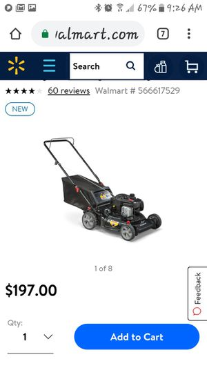 Used lawn mower for Sale in Kissimmee, FL