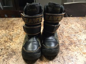 Tony Hawk thermolite kids boys snow boots/ winter boots size 13/1 for Sale in Elmwood Park, IL
