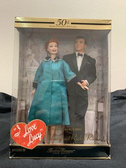 I Love Lucy 50th Anniversary Edition Timeless Treasure Barbie Dolls for Sale in Westley,  CA