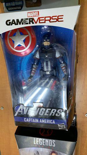 Gamerverse captain America action figure for Sale in Nashville, TN