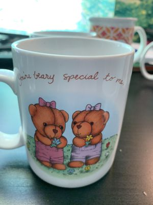 """Avon Ceramic Coffee Cup Mug """"You're Beary Special To Me"""" FRIENDSHIP Teddy Bears for Sale in Hannibal, MO"""