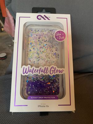 Apple IPhone X glitter phone case for Sale in Lakewood, CO