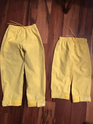 Oaki Trail and Rain Pants for Kids & Toddlers willing to separate for Sale in Federal Way, WA