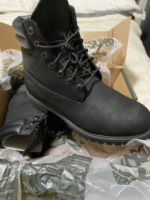 Timberlands black boots for Sale in South Gate, CA