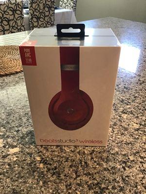 Brand New Studio 3 Wireless Beats Red Headphones 🎧 for Sale in Queen Creek, AZ