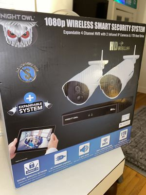 NIGHT OWL - 1080p WIRELESS SMART SECURITY SYSTEM for Sale in Columbia, SC