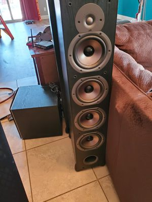 Polk Audio Towers, Center, Sub for Sale in Fresno, CA