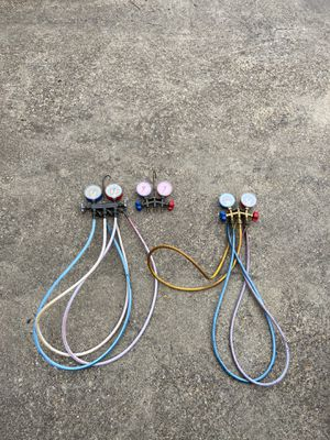 R-410A Freon gauges for Sale in Dallas, TX