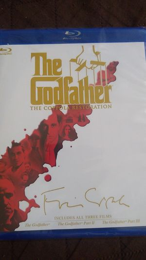 The Godfather Blu-ray 4 discs set. Sealed. New for Sale in Lawrenceville, GA