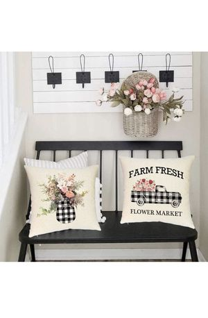 Farmhouse decor pillow covers for Sale in Marion, NC