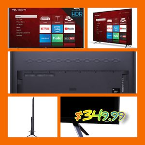 "TCL 55"" Smart TV with Roku for Sale in Phoenix, AZ"