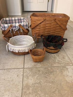 Longaberger baskets for Sale in Phoenix, AZ