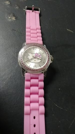 Hello Kitty pink watch for Sale in Arlington, TX