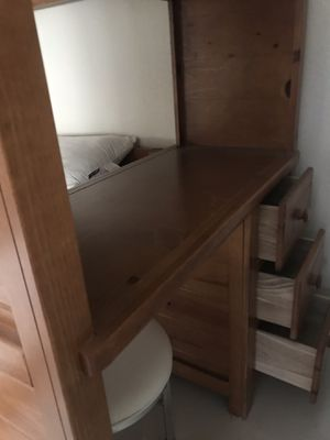 Bunk bed ,dresser , and desk , cama doble gacetero y escritorio for Sale in Miami, FL